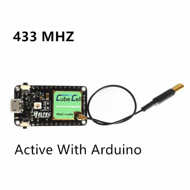 Lora Node ASR650x ASR6501 SX1262 Lora CubeCell Module//Development Board for arduino//Lora IOT sensors Waterproof IP67 Active 433