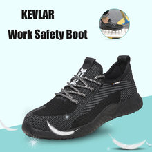 Легкая безопасная обувь для мужчин; Нескользящая дышащая рабочая