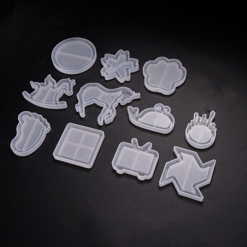 PopularTears Shaker Mold UV Resin Jewelry Molds DIY Jewelry Craft Tool Oil Syringe Jewelry Accessories