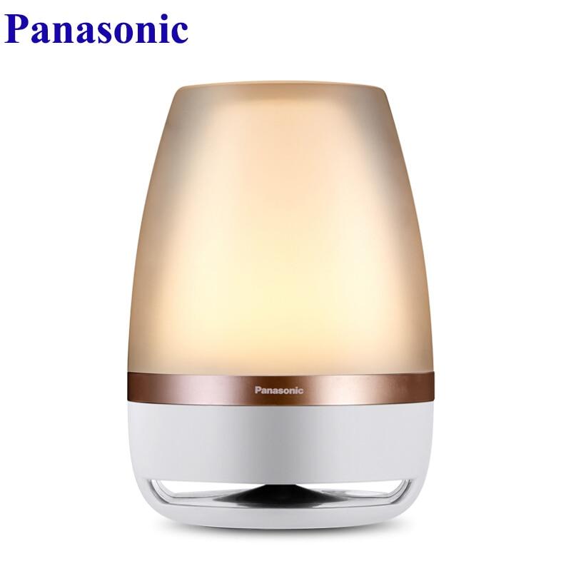 Lámpara de mesa de música inteligente de luz LED inalámbrica de Control remoto con Sensor táctil de luz nocturna Panasonic
