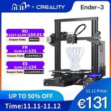 Full Metal CREALITY 3D Ender 3/Ender 3X/Ender 3 Pro Stampante Con La Magia Costruire Piastra di Aggiornamento Vision V scanalatura 3D Stampante