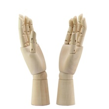 Tall wooden hand-drawn sketch model model wooden mannequin hand-painted movable limb human artist model