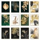 Golden Plant Leaves ...