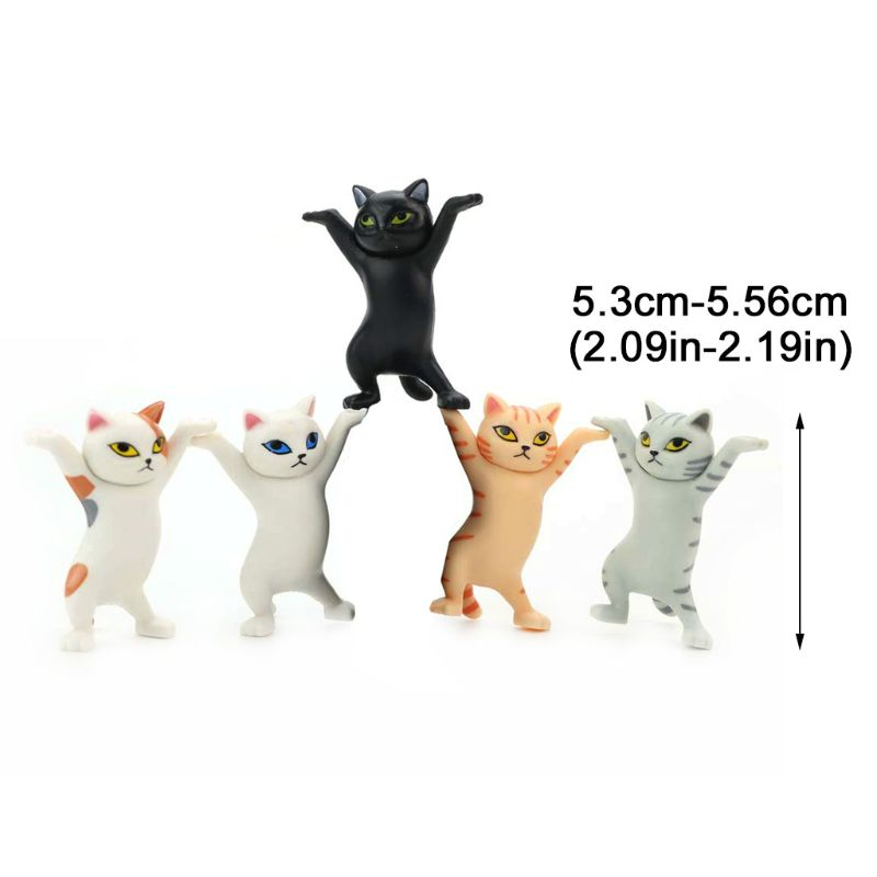 Cute Cat Pen Holders ( Without Coffin ) 2