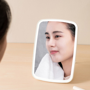 Image 2 - Xiaomi Mijia LED Makeup Mirror Light Touch Switch Control Natural Portable Make up Led Light Dormitory Desktop Mirror 1200mAh