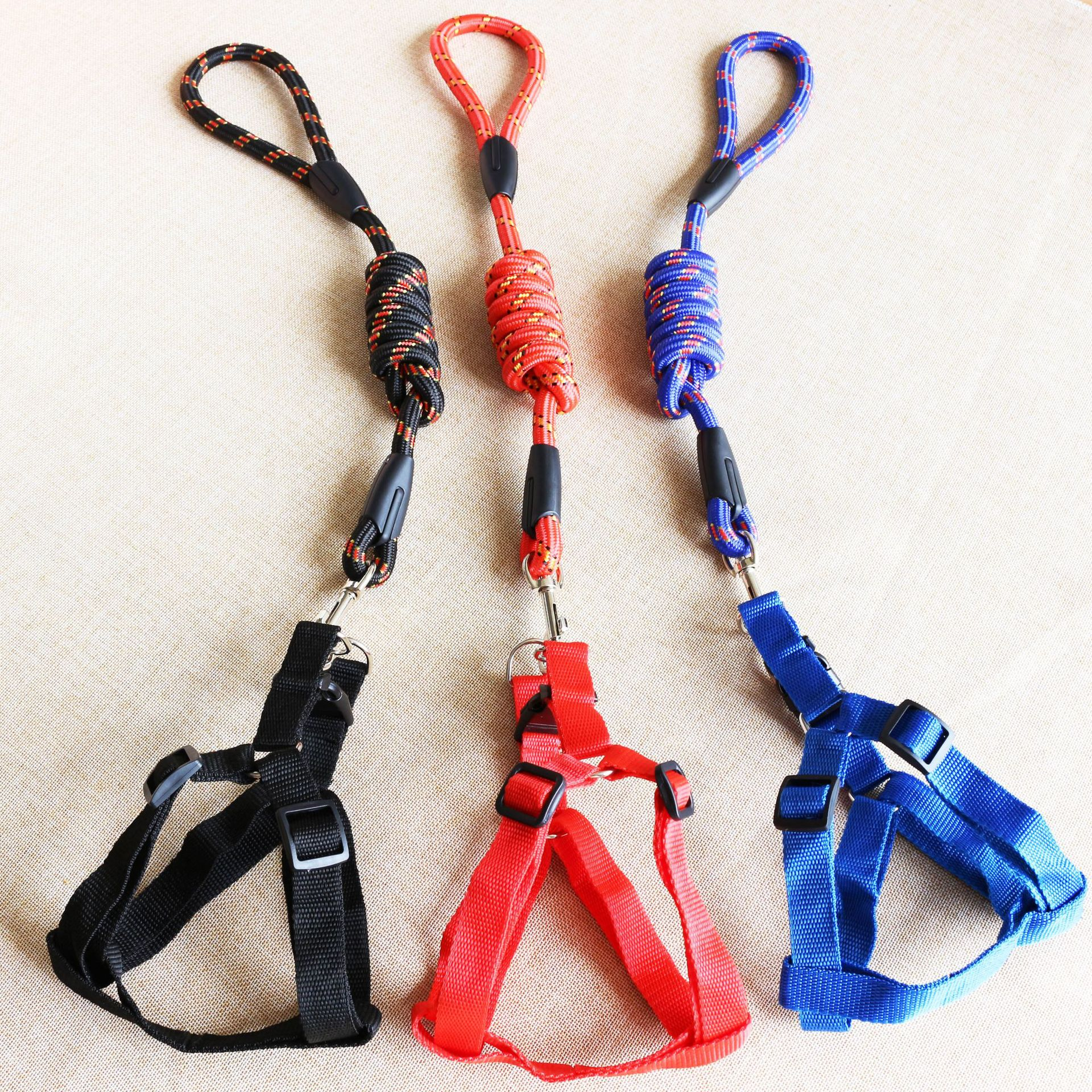 Pet Traction Rope Fine Lines Round Rope Hand Holding Rope Dog Xiong Bei Tao Classic Round Rope
