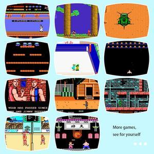 Image 3 - Built in 500/620 jogos mini tv game console 8 bits retro clássico handheld jogador de jogos av saída de vídeo game console brinquedos presentes