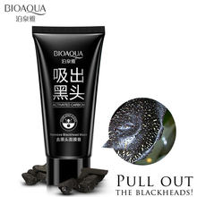 BIOAQUA Blackhead Remover Mask ลบสิวหัวดำ Purifying คุณภาพ Black Peel off Charcoal Mask หน้ากาก Mud Facial Mask Face Care(China)
