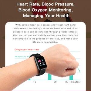 Image 3 - Gejian d13 homens relógio inteligente pressão arterial à prova dwaterproof água smartwatch feminino monitor de freqüência cardíaca fitness relógio esporte para android ios