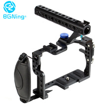 BGNing Protective Housing Case Handle Tray Mount Grip Rugged Cage Combo Kit DSLR Rig Digital Camera Case for GH3 GH4