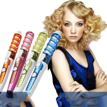 2019 Professional Hair Curler Magic Spiral Curling Iron Fast Heating Curling Wan