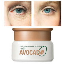 Anti-Dry Face Cream Anti-Wrinkle Collagen Avocad Essence Hyaluronic Acid Vitamin Moisturizer Skin Care Day Creams Argireline P