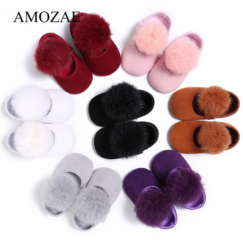 2019 New Arrival Baby Girls First Walker Soft Bottom Princess Shoes Non-slip Infant Toddler Baby Booties Girls Shoes
