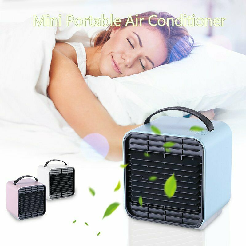 Air Cooler Portable Mini Air Conditioner Humidifier Purifier Cooler Fan Personal Space Fan Cooler Home Quick Cool Cooler