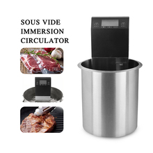 Commercial Sous vide Slow Cooking Timer Circulator Water Machine Low Temperature Vacuum Immersion Food Cook Kitchen itop low temperature vacuum cook machine steak cooker vacuum food processing machine pure boiled sous vide cooking