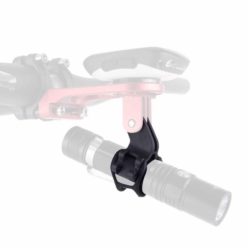 ZTTO Senter Lampu Sepeda Pemegang Senter Bracket untuk ROAD Sepeda MTB Sepeda Bagian Disesuaikan untuk GoPro Gunung