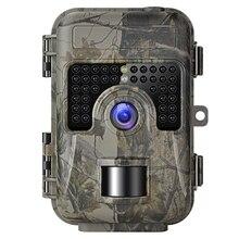 Игровая камера с функцией ночного видения, активированная при движении, 1080 P, 16 Мп, камера для охоты, ловушка, камера, без свечения, ИК, обновленная, водонепроницаемая