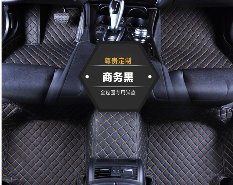Auto intérieur accessoires tapis LHD voiture tapis de sol pour Nissan leaf 2019 (voiture électrique)