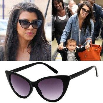 Luxury Cat Eye Sunglasses For Women Brand Designer Shades Vintage Small women's Sun Glasses Female Trends Retro Sunglasses 2021
