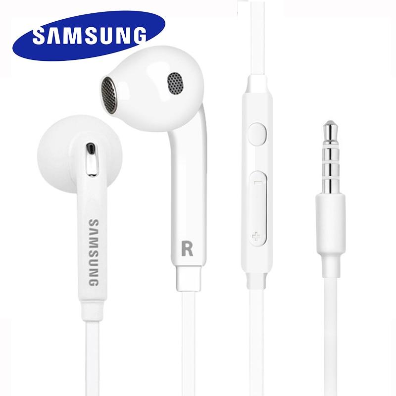 Наушники Samsung, 3,5 мм, EG920, глубокие басы, вкладыши с микрофоном/пультом дистанционного управления для Galaxy S10 S9 S8 S8 S6 S7 Note 8 9 A70 A50
