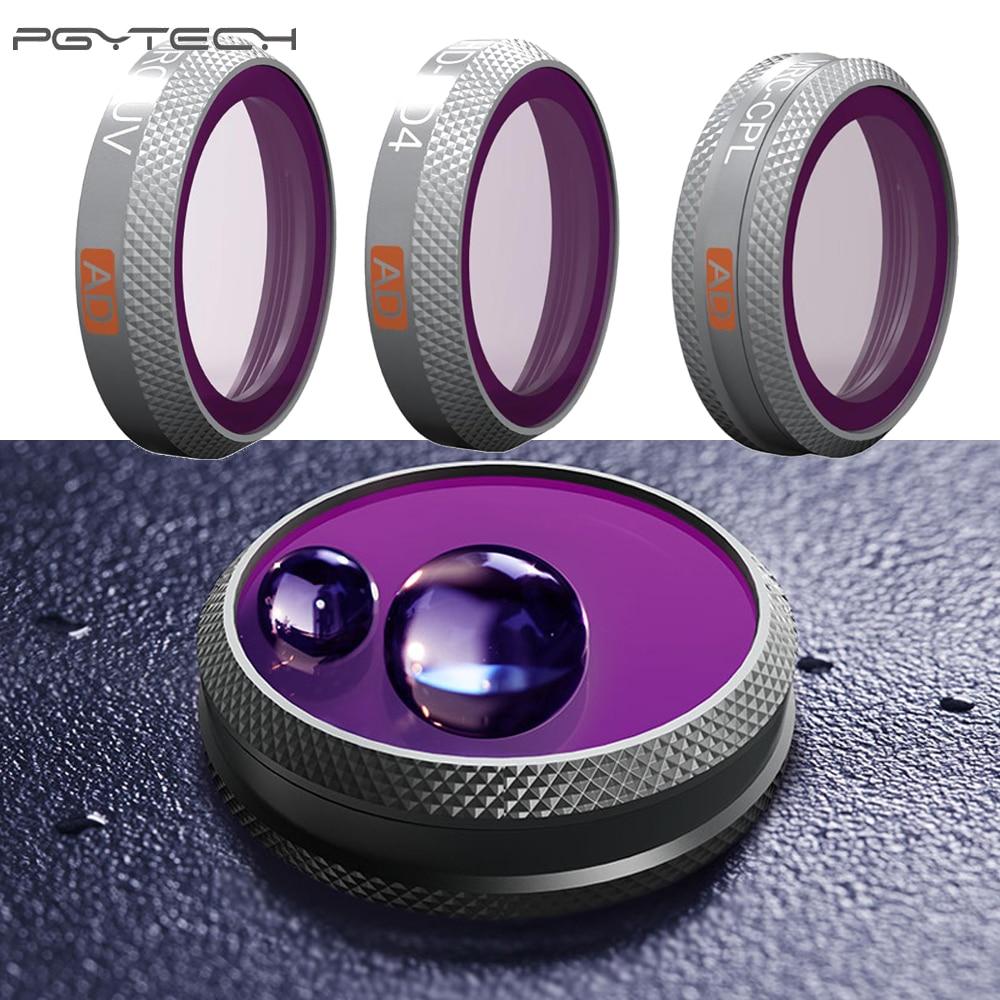 1Pcs PGYTECH Filter Camera Filter UV/CPL/ND4 Gradient Dimming For DJI MAVIC 2 ZOOM