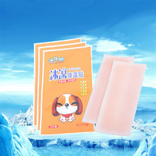 10 Pieces Summer Cooling Gel Patch Body Massage for Relief Migraine Headache Fever Coolers prevent Sunstroke for Adult Children(China)