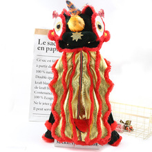 Costume Coat Puppy-Jackets Dress-Up Christmas-Clothing Funny Small Dogs Winter for Lion