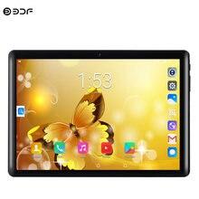Yeni 10.1 inç Google Tablet Pc Android 7.0 dört çekirdekli 3G telefon görüşmesi Tablet 1GB + 32GB çift SIM GPS WiFi Bluetooth 2.5D HD ekran
