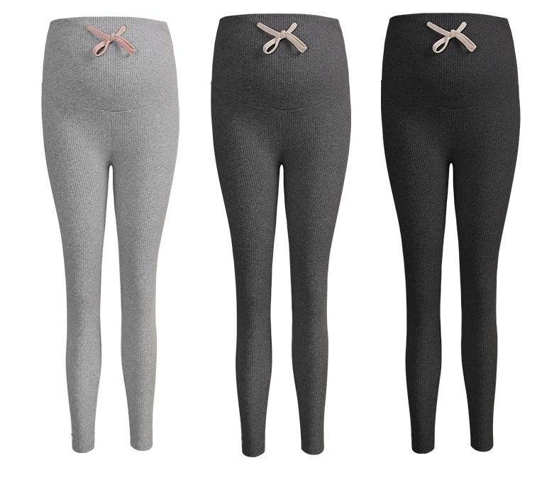 Pregnant Women Autumn Pregnancy Pencil Pants Spring Winter Casual Maternity Legging Elastic Waist Belly Legging Clothes