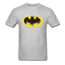 Super Men's T-shirts I Am The Dark Guys Birthday Gift Tshirt Marvel Batman Logo Tees Short Sleeve T Shirt Summer Cotton Tops