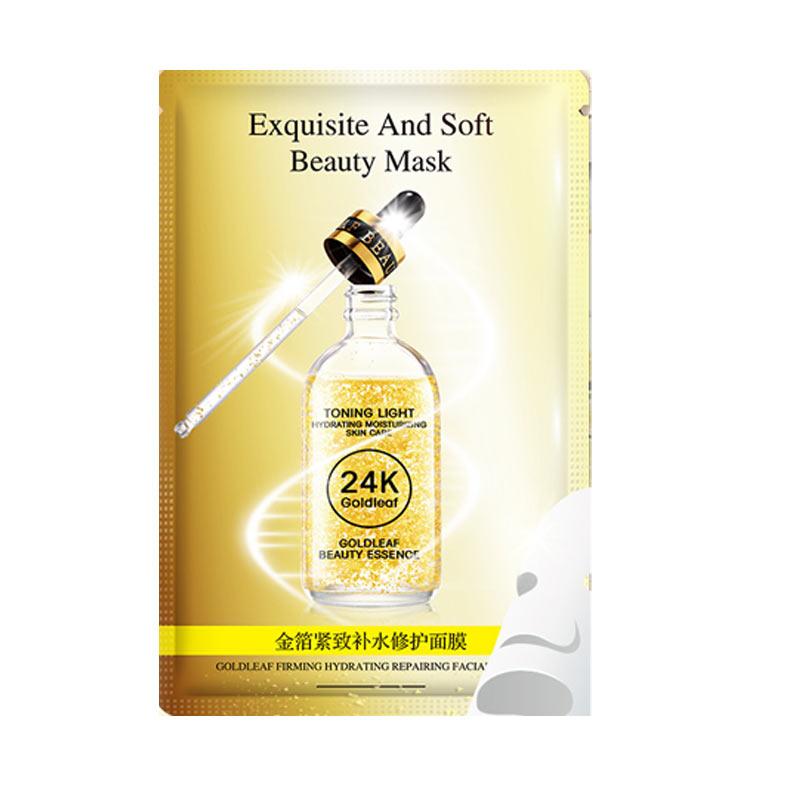 HANKEY 24 folha de ouro essência beleza exquisiteande macio máscaras de beleza máscara facial Hidratante Anti-Envelhecimento facial maquiagem coreano