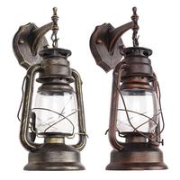 LED Retro Wall Lamp Antique Glass Industrial Wall Light Decoration For Bar Cafe Shop Gadrden Lighting