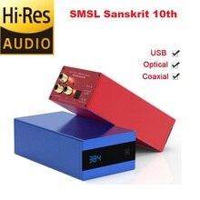 SMSL Sanskrit 10th SK10 Hi-Res Audio USB DAC Digital Decoder Amplifier  AK4490 DSD DAC  Amp XMOS With Remote Control