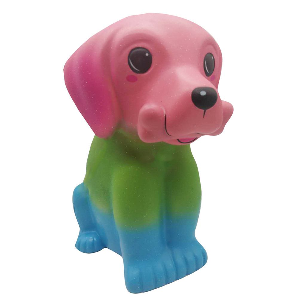 Huge Adorable Dog Stress Relief Funny For Kids Gift Eliminate Decompression Slow Rebound Toys Squashed Puppy #D