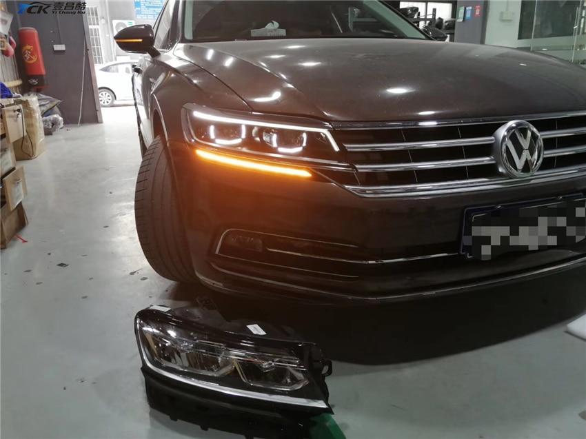 YCK Original 3ED941082 2017 2018 2019 Phideon conjunto de faros LED para reemplazo de faros mejora de cable de modificación de coche - 3