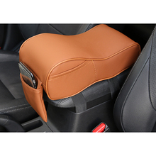 Lsrtw2017 Leather Cotton Car Central Control Armrest Cushion for Mitsubishi Outlander 2013 2014 2015 2016 2017 2018 2019 2020 memunia 2018 new arrival knee high boots for women pointed toe suede leather boots zipper lace up autumn boots fashion shoes