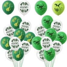 Dinosaur Party Supplies Dinosaur Latex Balloons Confetti for Kids Boy Birthday Party Decoration Dinosaur World Jungle Party