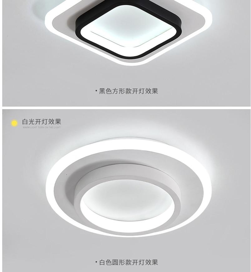 H8fe14e63f3c041598486344de6aed885T LICAN Modern LED Ceiling Lights for bedroom bedside Aisle corridor balcony Entrance Modern LED Ceiling Lamp for home