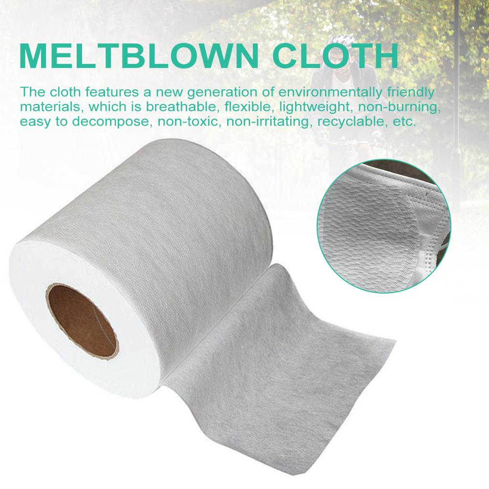 Disposable Meltblown Cloth Meltblown Nonwoven Mask Filter Fabric For Mask Filtering Layer Application Breathable