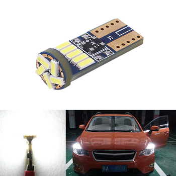 BOAOSI 1X W164 T10 W5W LED 4014SMD Wedge Light Sidelight No Error For Subaru impreza legacy xv forester Outback Tribeca Fiat image