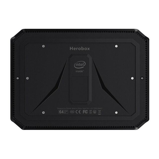 Mini PC  Windows 10 system Intel Gemini-Lake N4100 Quad Core LPDDR4 8GB RAM 256G SSD 3