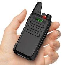 Mini walkie talkie estação de rádio em dois sentidos wln KD-C1 para rádio presunto transceptor móvel de longa distância