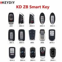 New Original KEYDIY KD Smart Key Universal Multi functional ZB Series Remote Control for KD X2 Key Programmer|Car Key| |  -