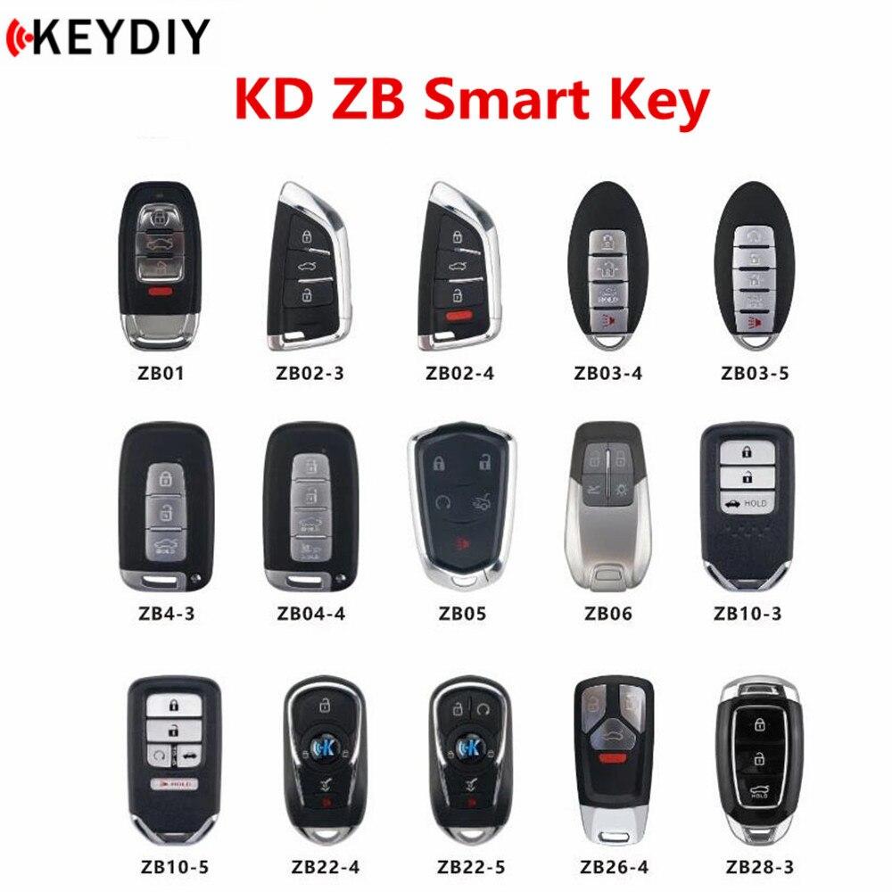Nieuwe Originele Keydiy Kd Smart Key Universal Multi-Functionele Zb Serie Afstandsbediening Voor KD-X2 Key Programmeur