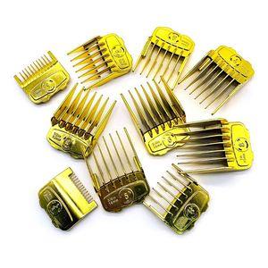 Image 3 - 2019 mais novo 10 pçs/set elegante ouro elétrico clippers ímã pinça limite pente cabeça de óleo clipper pentes