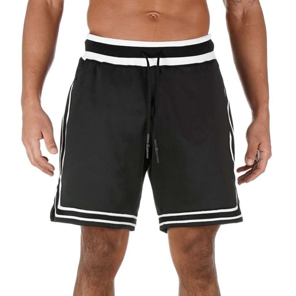 Summer Shorts Men 2020 Casual Fast Drying Pockets Inside Fitness Workout Beach Shorts Man Breathable Gym Short Trousers Jr03