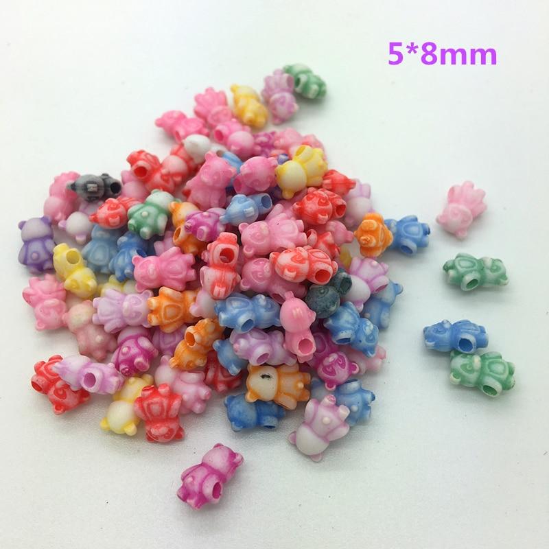 50 шт разноцветные акриловые бусины с перфорацией DIY серьги для изготовления ювелирных изделий ожерелье браслет аксессуары - Цвет: 65