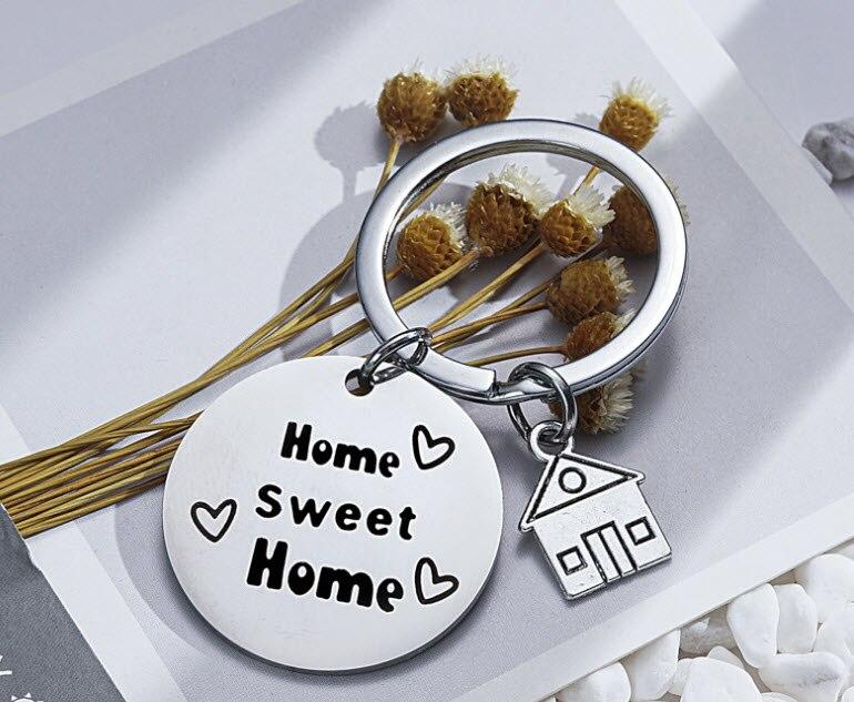 """Купить семья брелок """"любовь"""" кулон милый дом буквы орнамент"""