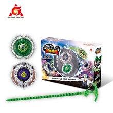 Gyro Infinity Nado – Ensemble 3 cascadeurs, jouet de bataille pour enfant, combinaison transformant l'arène, fendue, lanceur toupie, jeu Beyblade