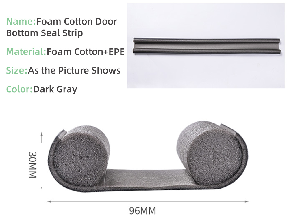 Door Bottom Sealing Strip Stopper